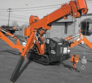 Spyder Cranes NessCampbell