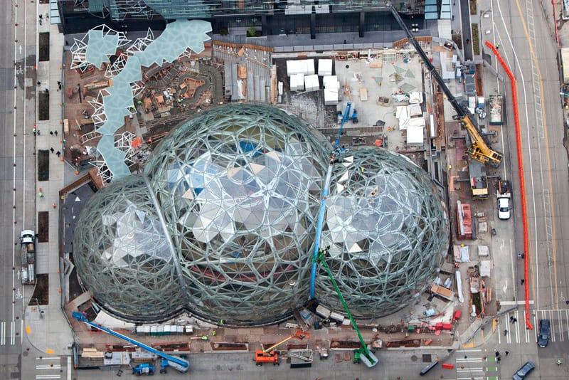 Domed Building Construction Alt