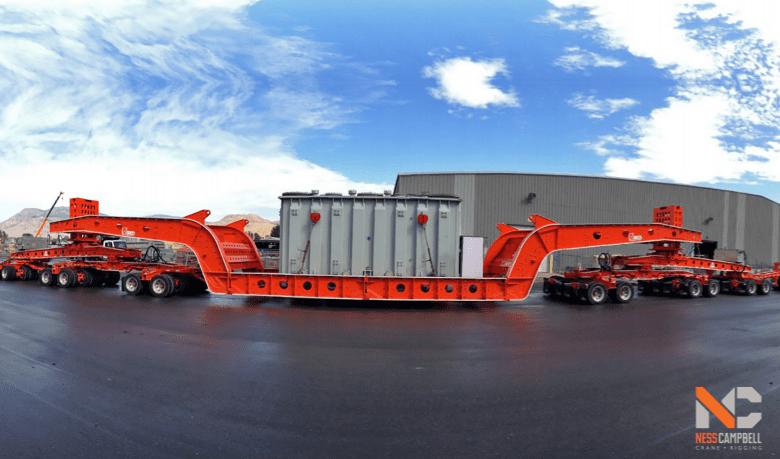 K Line heavy haul trailer | NessCampbell