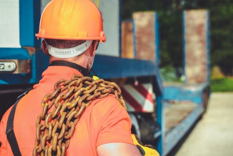 Safety Tips for Hauling Heavy Equipment